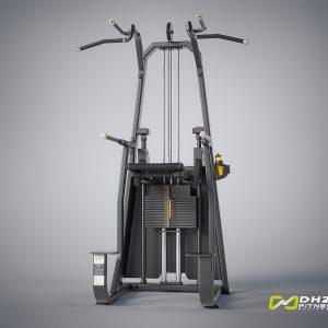 دستگاه بدنسازی بارفیکس کمکی DHZ Fitness