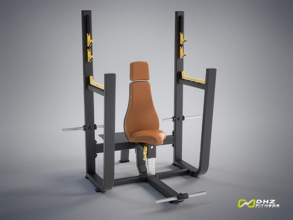 دستگاه نیمکت مقر سرشانه بدنسازی DHZ Fitness