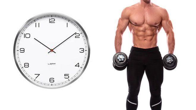 بهترین ساعت برای تمرین بدنسازی