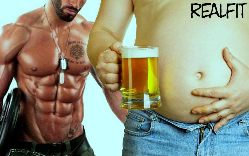 مصرف الکل و ارتباط آن با بدنسازی